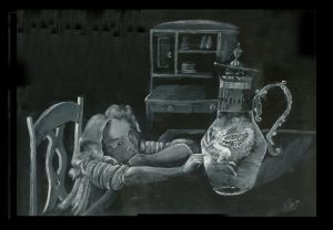 Nightlight #2 by jenny K Brennan - Acrylic - 2010.