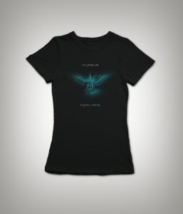 Ladies T-Shirt with the Icarus Machine Logo