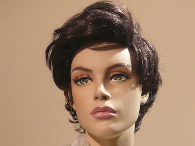 Mannequin woman head.